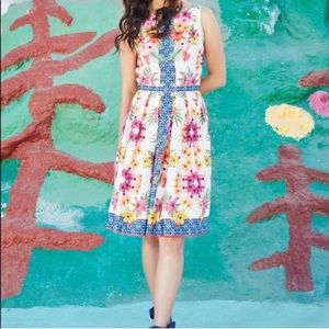 ModCloth Zesty Attire Required Floral Dress